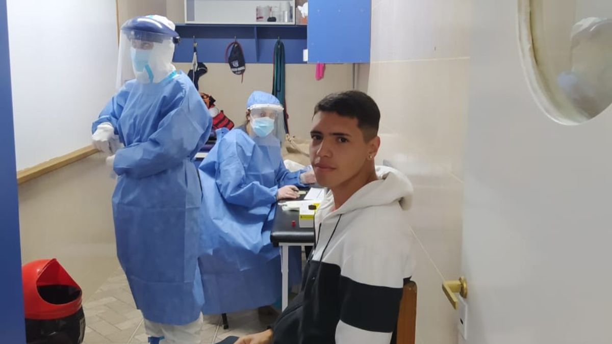 El pasado fin de semana realizaron testeos en el club Tristán Suárez y detectaron 3 casos positivos de coronavirus. Foto: oficial de Tristán Suárez.