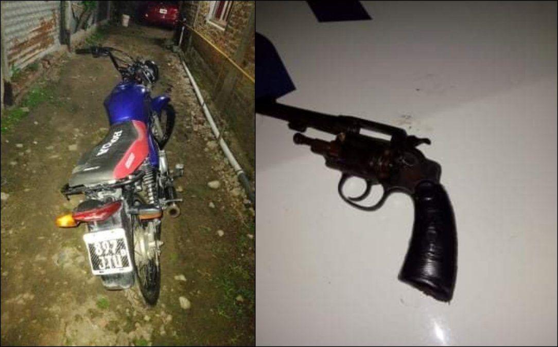 Brown: detuvieron a un motochorro que era buscado por un homicidio
