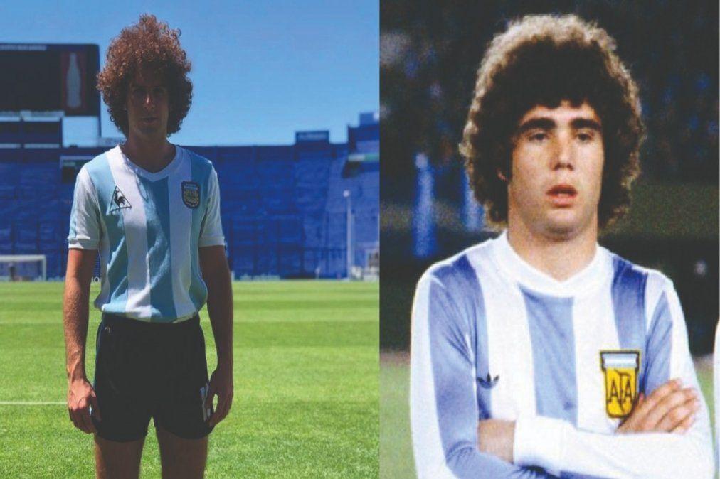 Joven actor de Monte Grande interpretará a una gloria del fútbol en la serie de Maradona