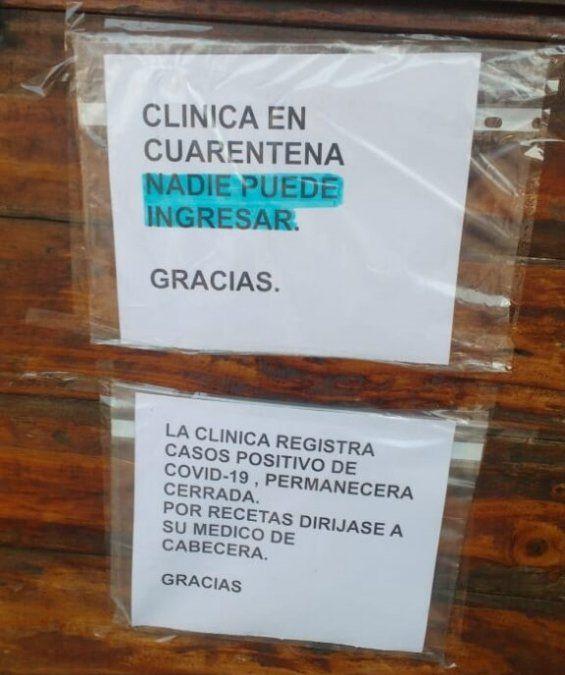 Temperley: cerraron una clínica por casos de coronavirus