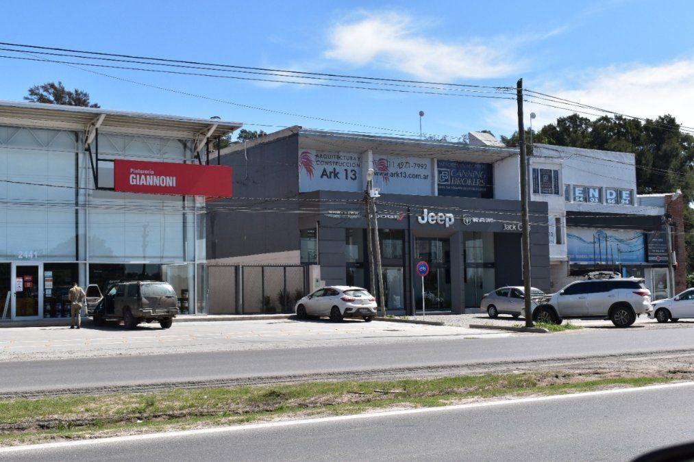 Canning: Aumenta la demanda de alquileres comerciales. Corredor entre Rotonda de Las Mujeres y Rotonda sobre Dupuy