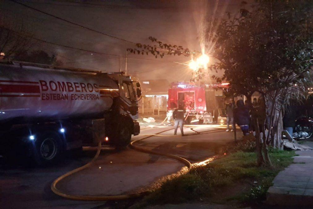 Incendio en El Jagüel: falleció una nena de 3 años