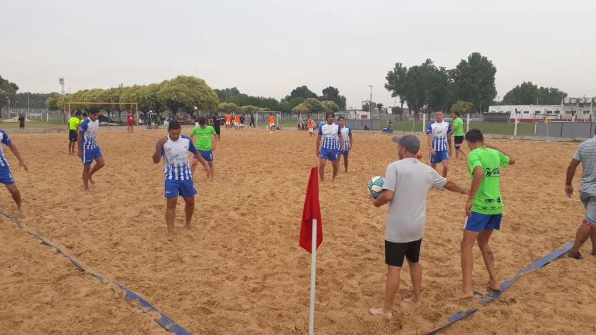Canning: fútbol playa retomará los entrenamientos y buscará consolidarse como disciplina de ADCC.