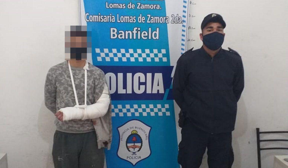 Banfield: detuvieron a dos miembros de una banda que realizaba entraderas
