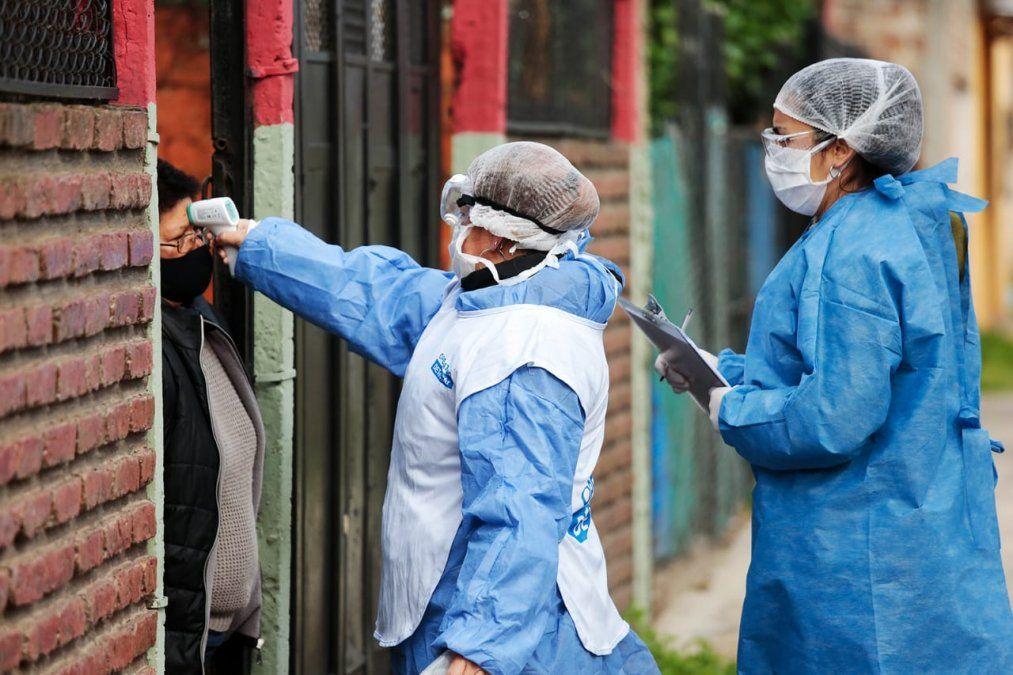 Coronavirus en Brown: bajaron los contagios diarios