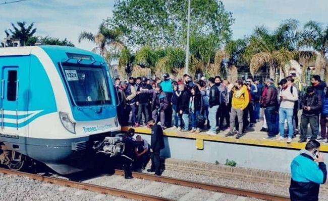accidente en longchamps: un vendedor ambulante fue arrollado por el tren