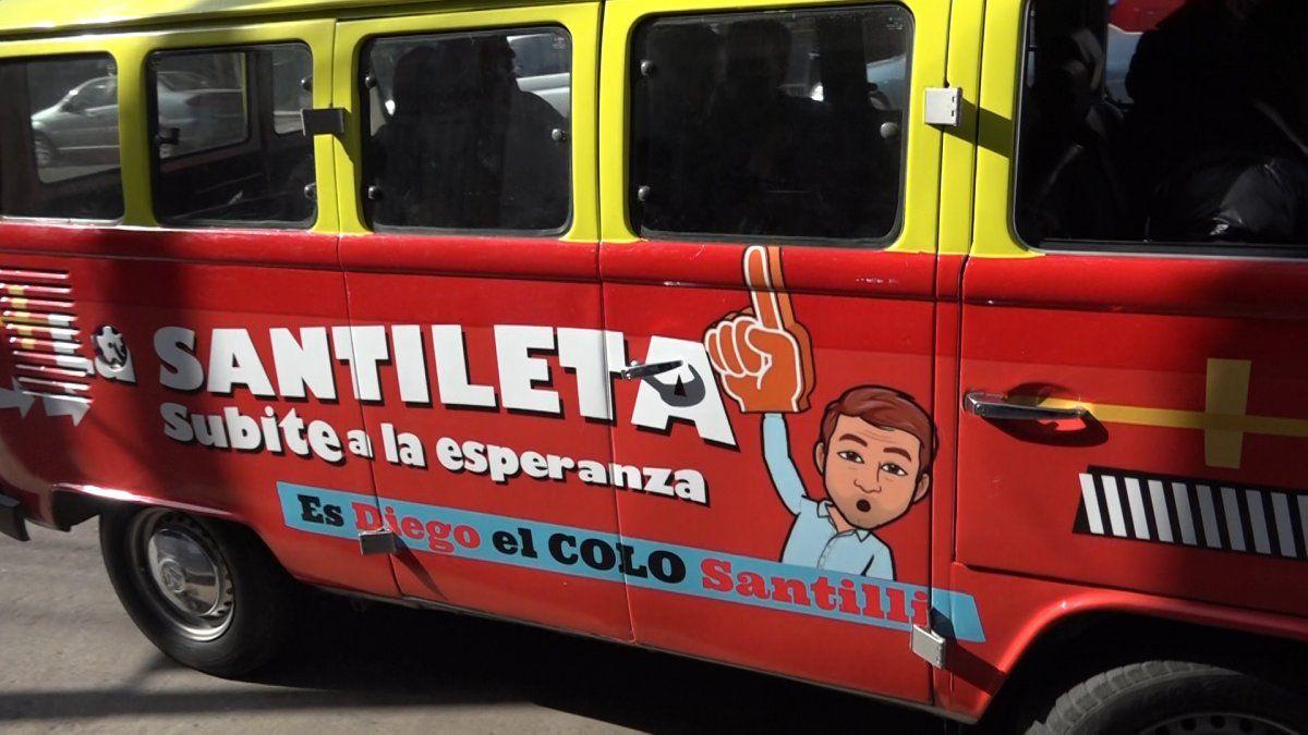 Santilli en Monte Grande: Hay que sacar a la calle a los policías que están con tareas administrativas