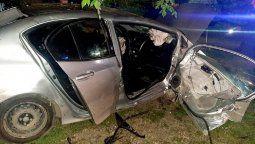 Violento choque en Longchamps dejó varios heridos