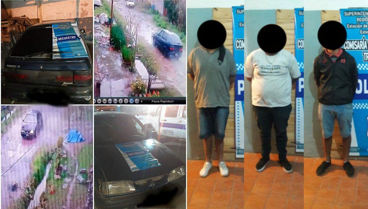 Capturaron a una peligrosa banda de ladrones en 9 de Abril