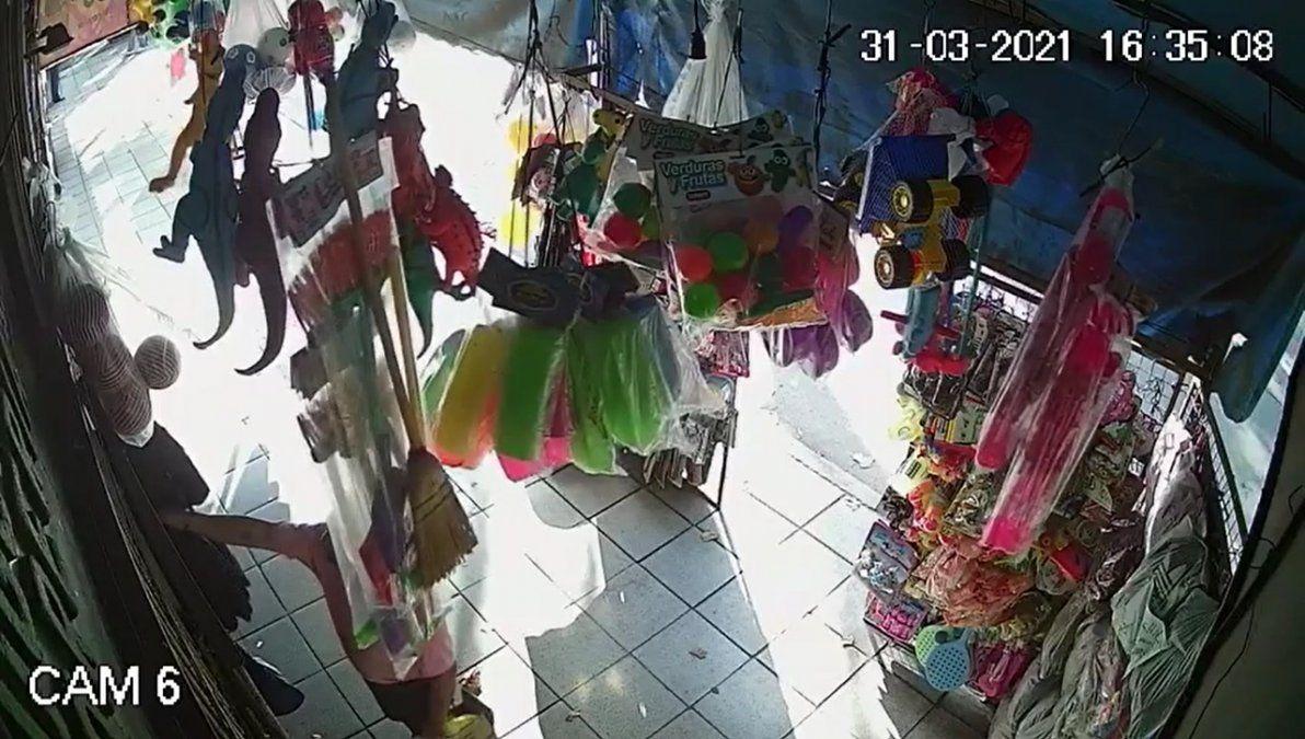 Inseguridad en Burzaco: un comercio fue víctima de un robo por tercera vez