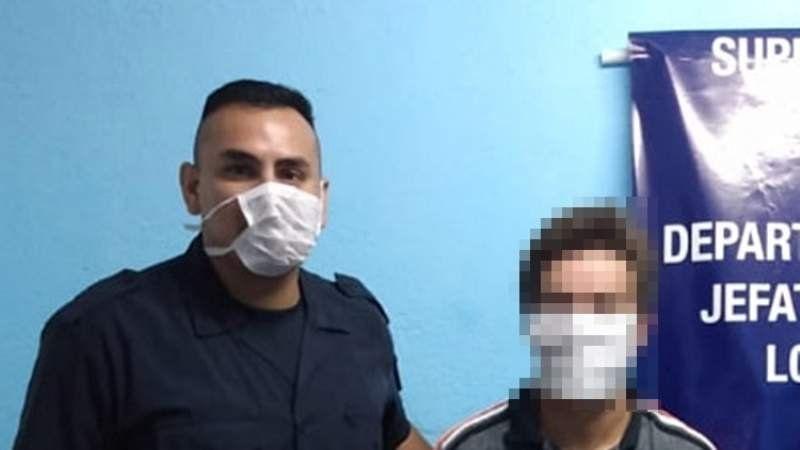 En medio de la cuarentena, un detenido por violencia de género