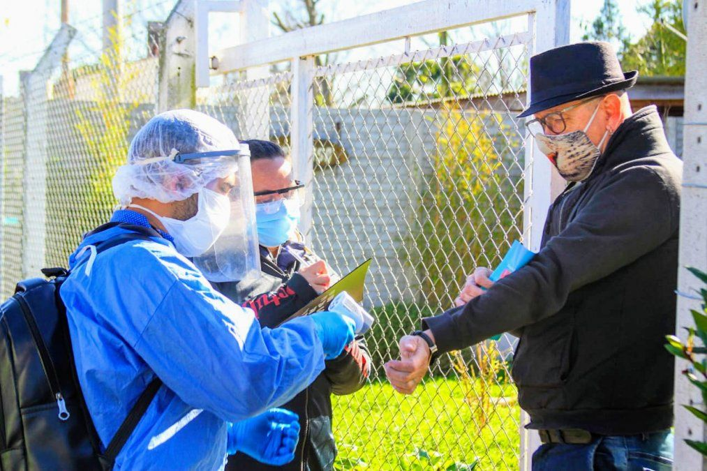 Coronavirus en San Vicente: los casos siguen a la baja y no hubo nuevas muertes