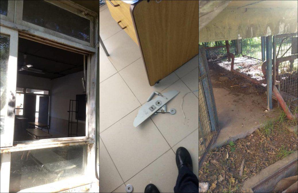 Estamos indefensos: en 15 días, hubo dos robos en una escuela de Burzaco