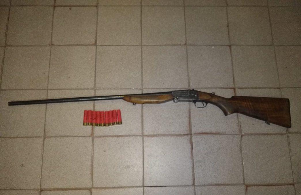 Longchamps: amenazó a su expareja y lo detuvieron con una escopeta