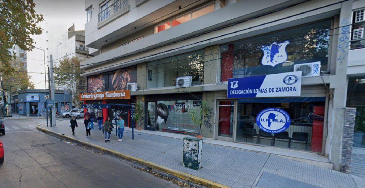 Balearon la sede en Lomas de Zamora del gremio de seguridad privada