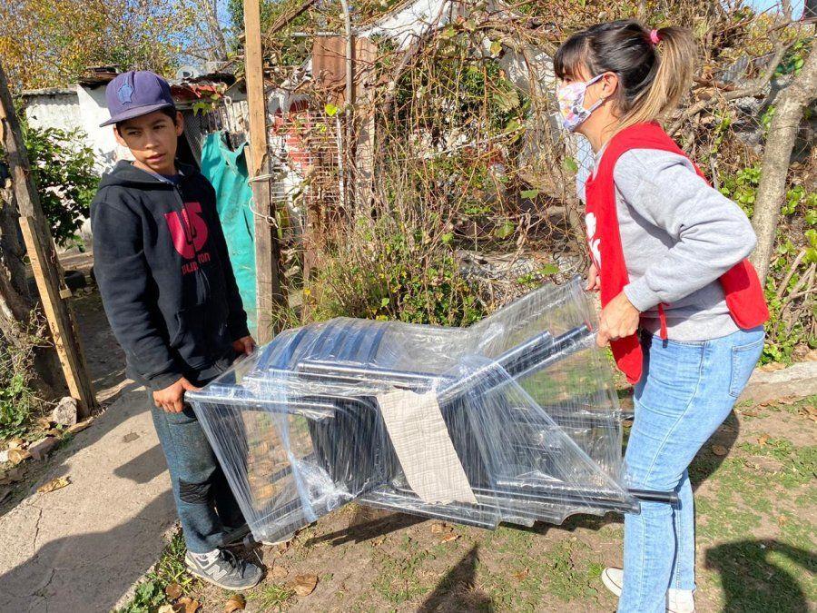 En cuarentena, las Mamis Solidarias de Canning redoblaron sus esfuerzos por los más chicos