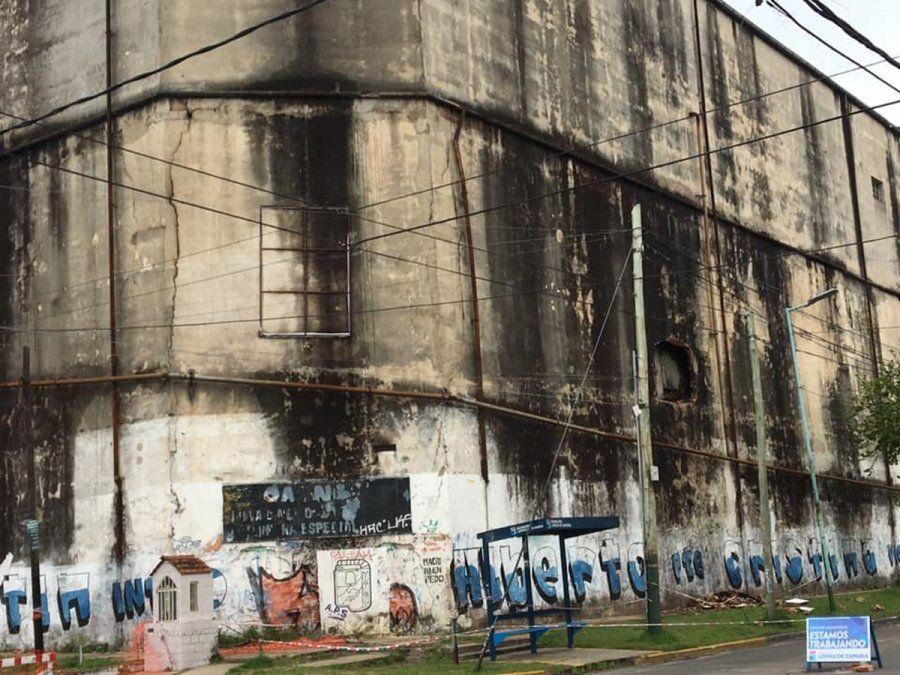 Lomas de Zamora: ordenaron demoler una estructura con peligro de derrumbe