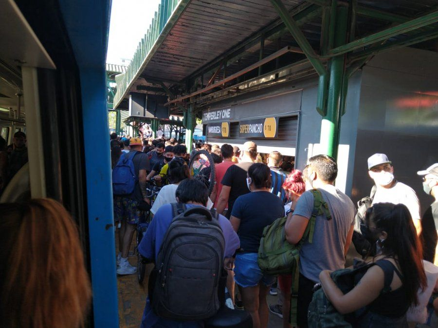 Tren Roca: no anda entre Constitución y Temperley
