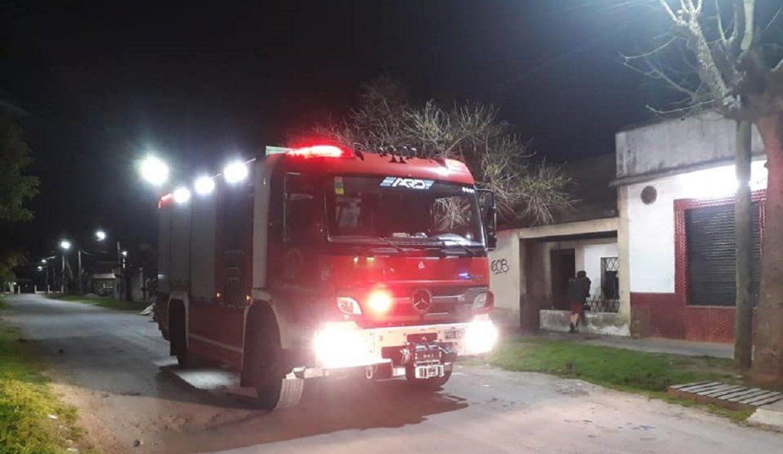 Incendio en Lomas de Zamora