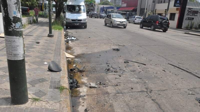 Dos muertos en un accidente automovilístico en el centro de Monte Grande