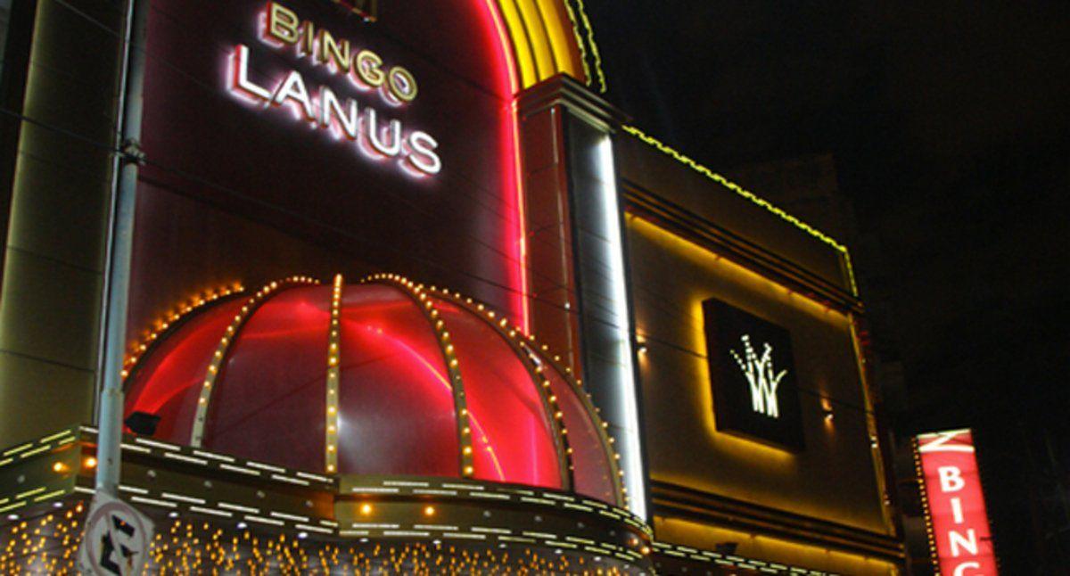 La sala de Lanús, uno de los tantos bingos que podrá abrir sus puertas ante las nuevas flexibilizaciones.