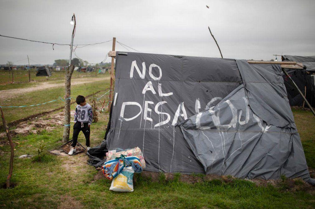 Desalojo en Guernica: despliegan a la Policía pero esperan a los próximos días