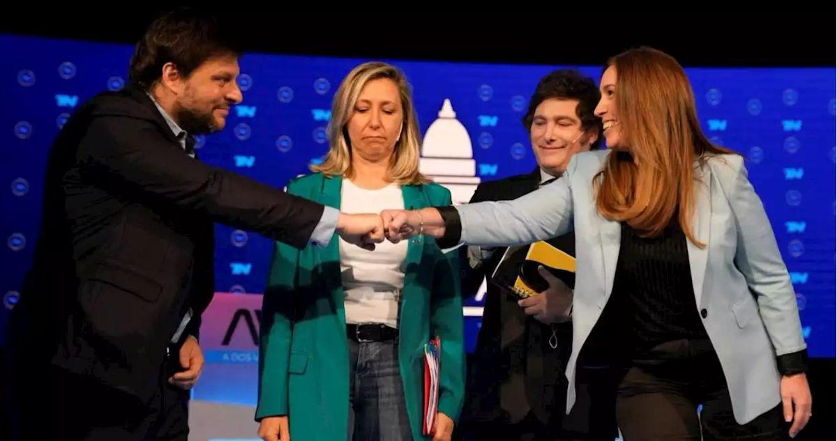 Grito y cruces entre los candidatos en el Debate CABA