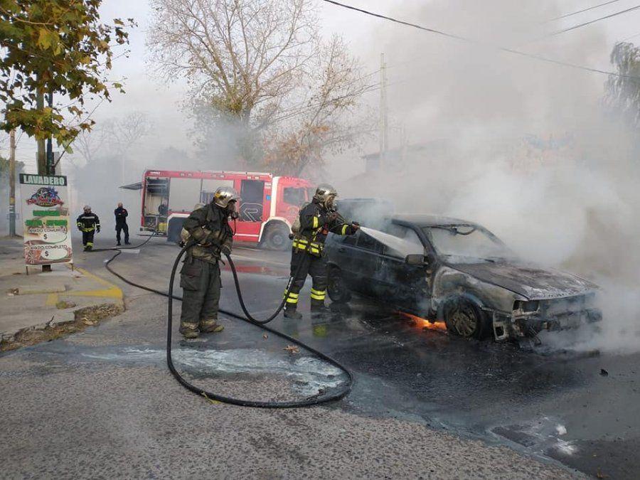 Incendio en Banfield