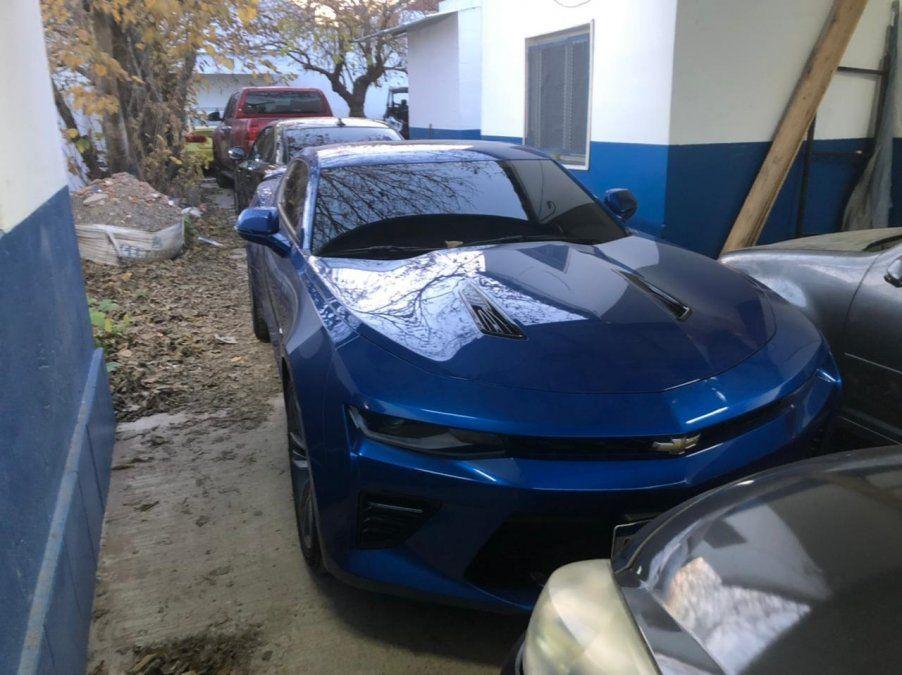 La policía de Ezeiza utilizará los autos secuestrados a una banda narco