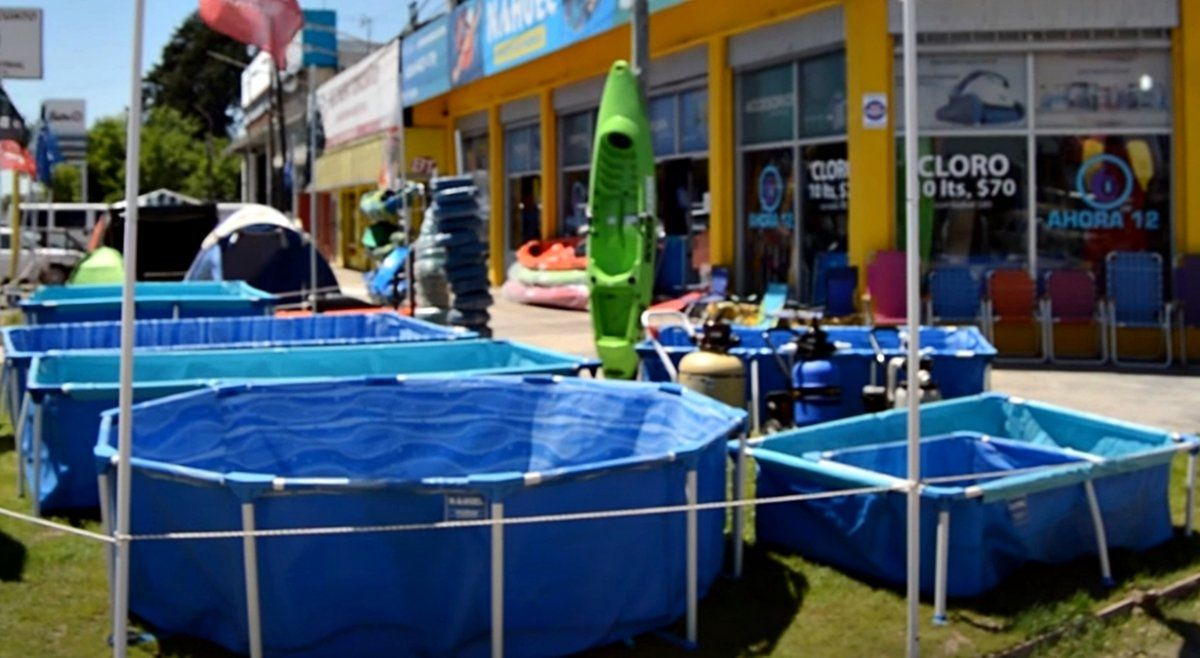 Pelopincho, de plástico o de hormigón: nuevo furor por las piletas en el verano de la pandemia