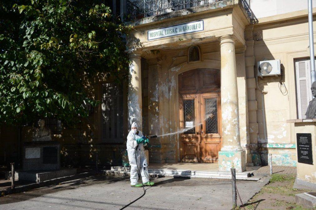 Hospital Gandulfo: falta de médicos, personal saturado y alta ocupación de camas