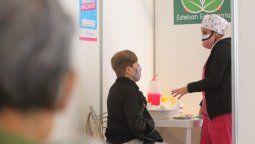 Aplicación de vacunas contra el coronavirus en Esteban Echeverría