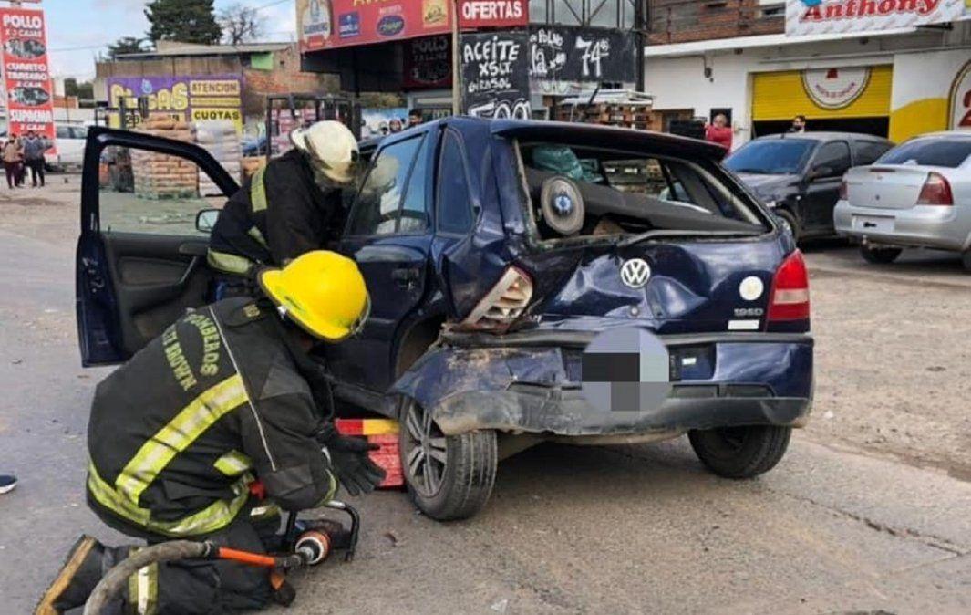 Choque en cadena en Longchamps: hay dos heridos