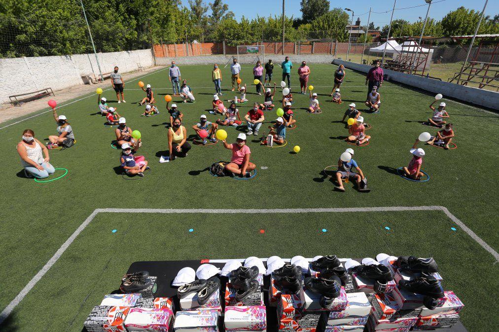 700 chicos concurren al programa Verano ATR en Echeverría: visita de Fernando Gray
