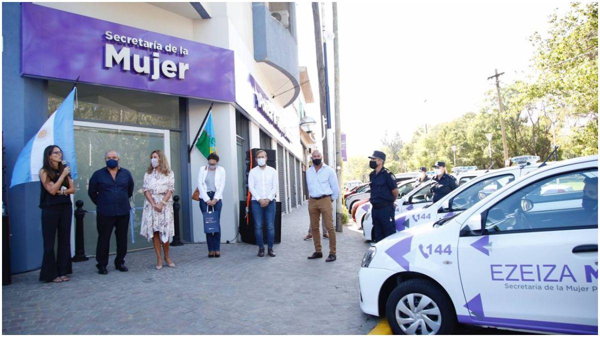 Inauguraron la Secretaría de la Mujer en Ezeiza.