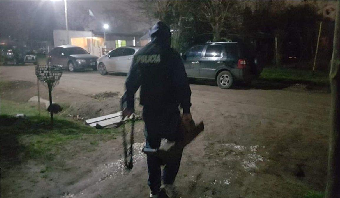 Buscan en San Vicente al supuesto autor del brutal robo de Glew