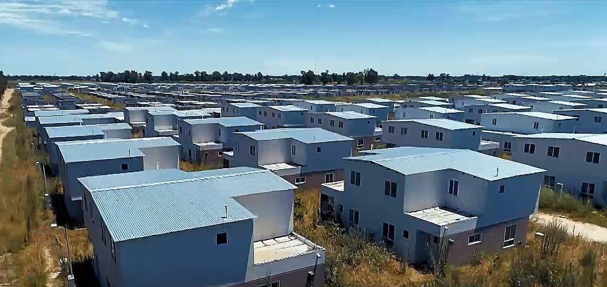 Monte Grande: reactivan la construcción de 784 viviendas