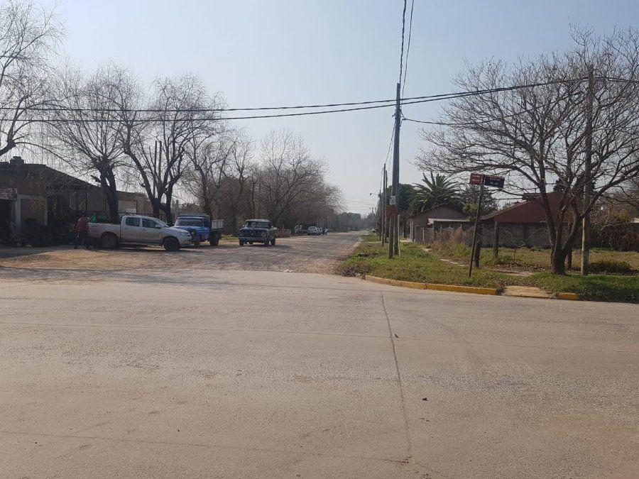 San Vicente: licitan obra de asfalto de una calle céntrica