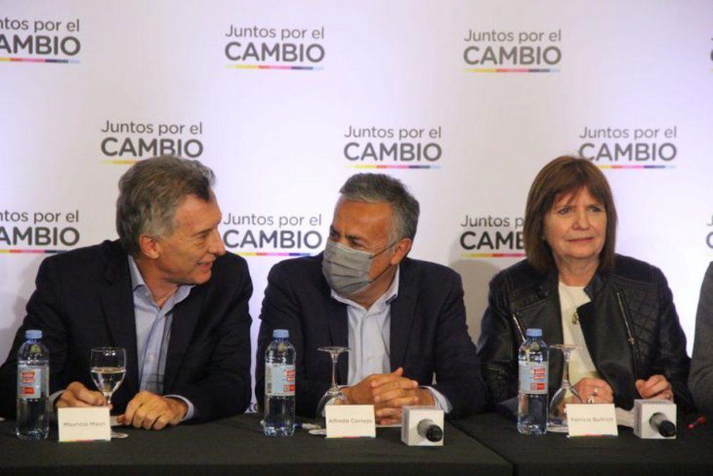 Las anotaciones de Macri ocurrieron durante una reunión de Juntos.