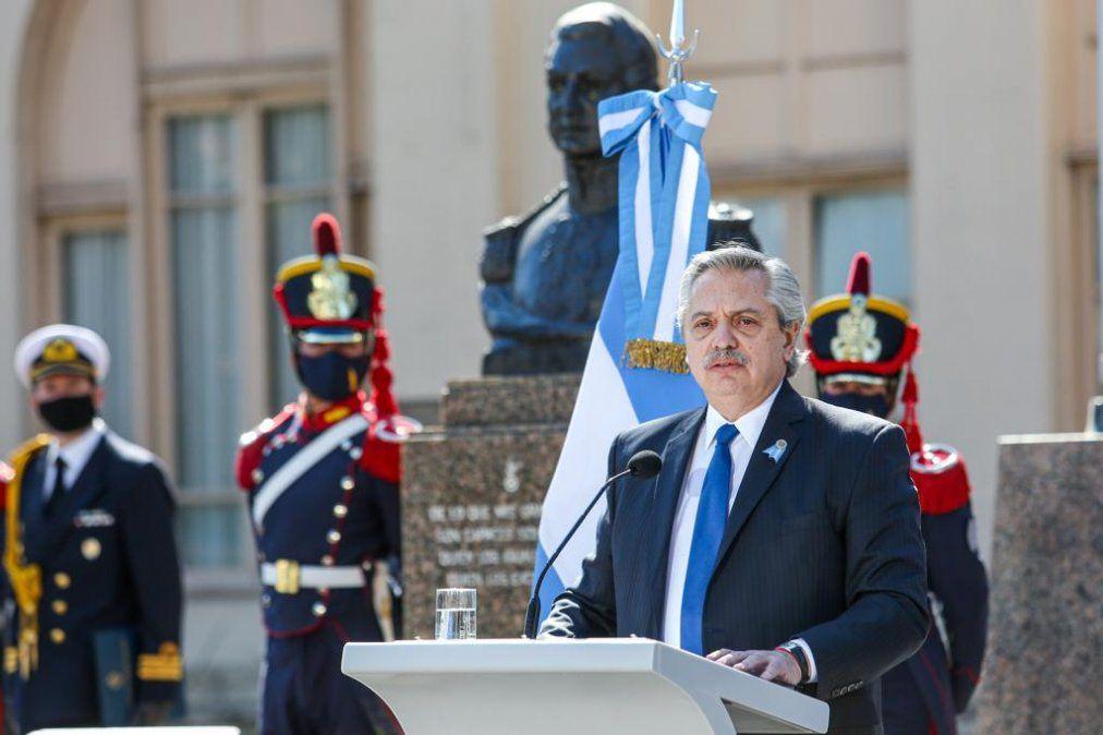 Acto por el aniversario del fallecimiento del general José de San Martín