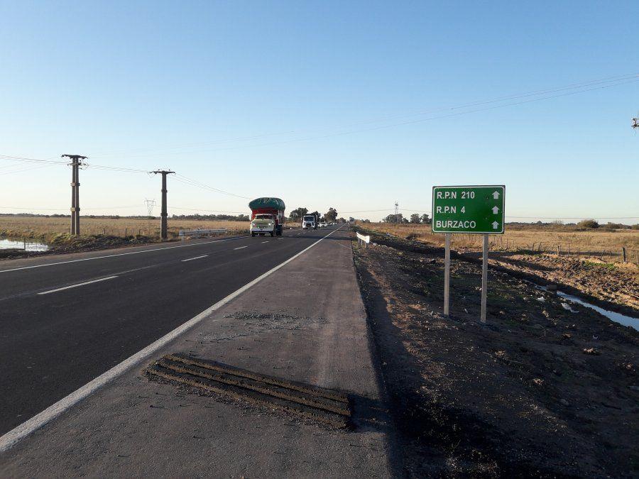 Camino de las latas: Finalizó la reconstrucción de la ruta