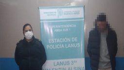 lanus: le robaron a una presidenta de mesa y los detuvieron