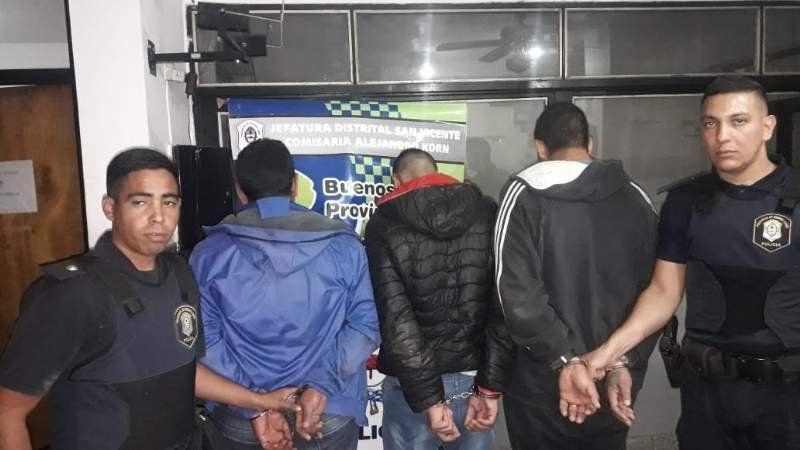 Detuvieron una banda criminal en pleno robo