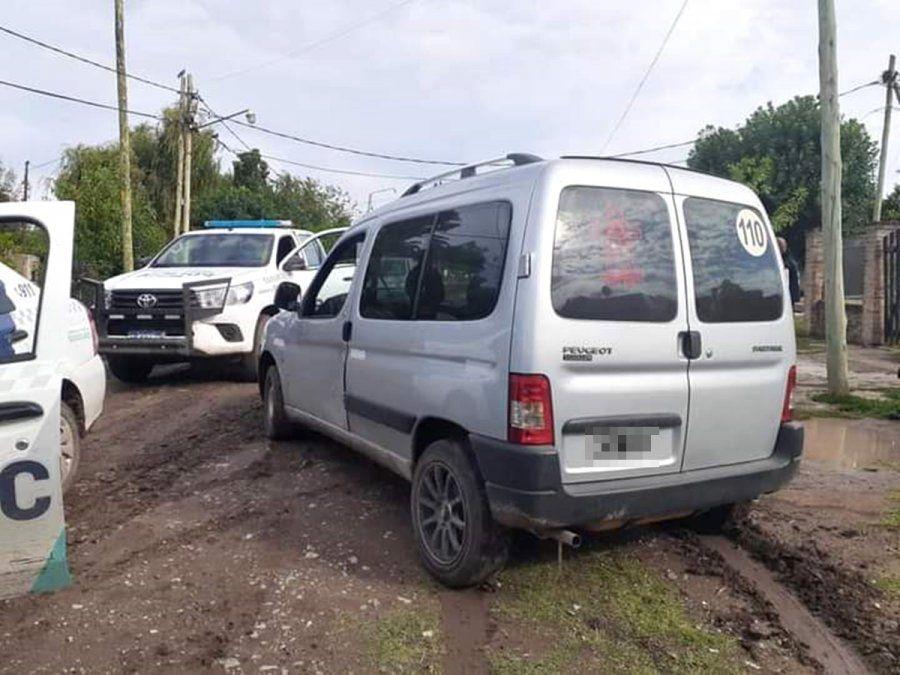 Persecución, tiroteo y detención de un pirata del asfalto en Burzaco