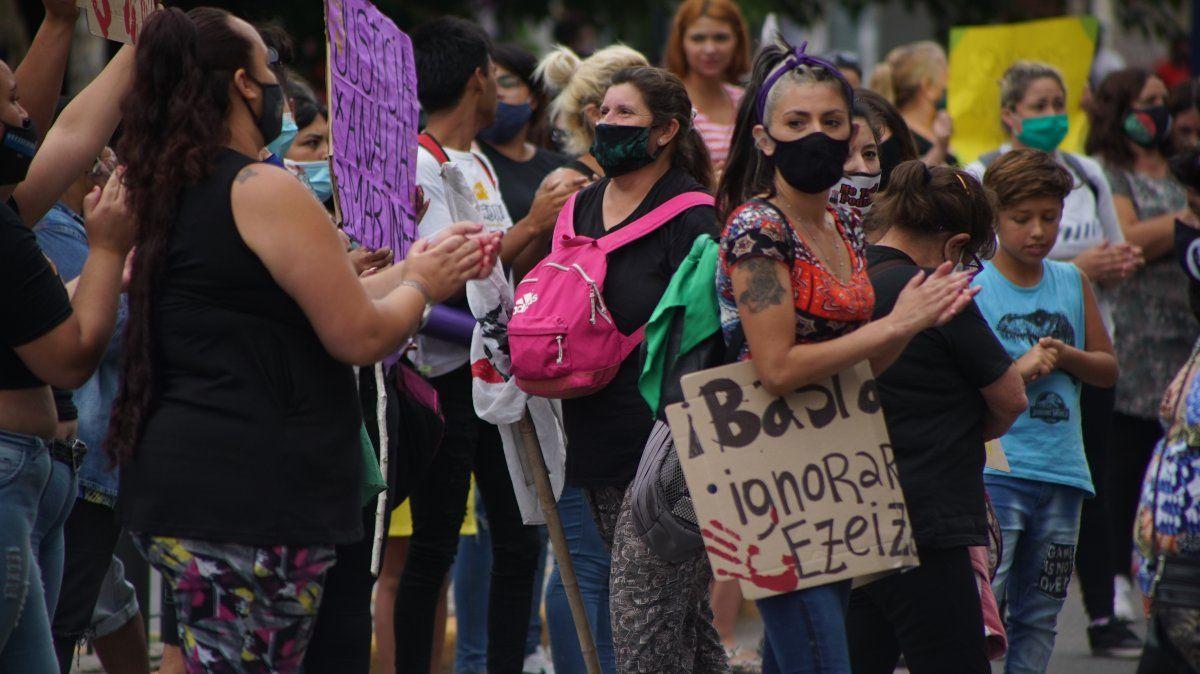 Segunda marcha en Ezeiza para pedir justicia por los femicidios
