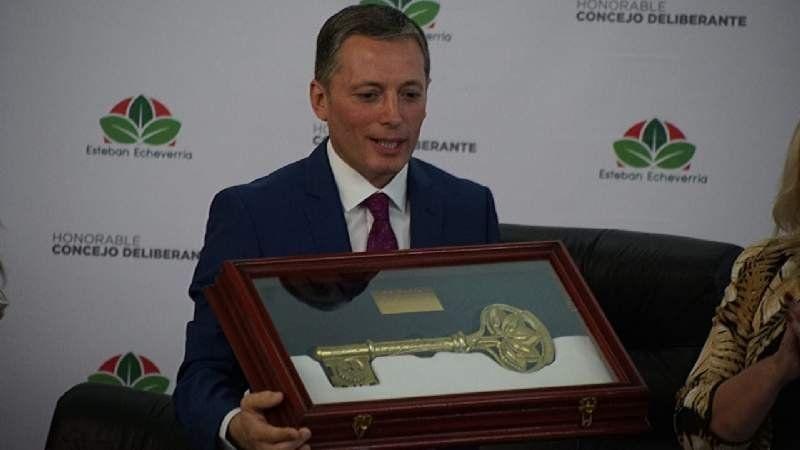 Fernando Gray asumió su cuarto mandato como intendente de Esteban Echeverría