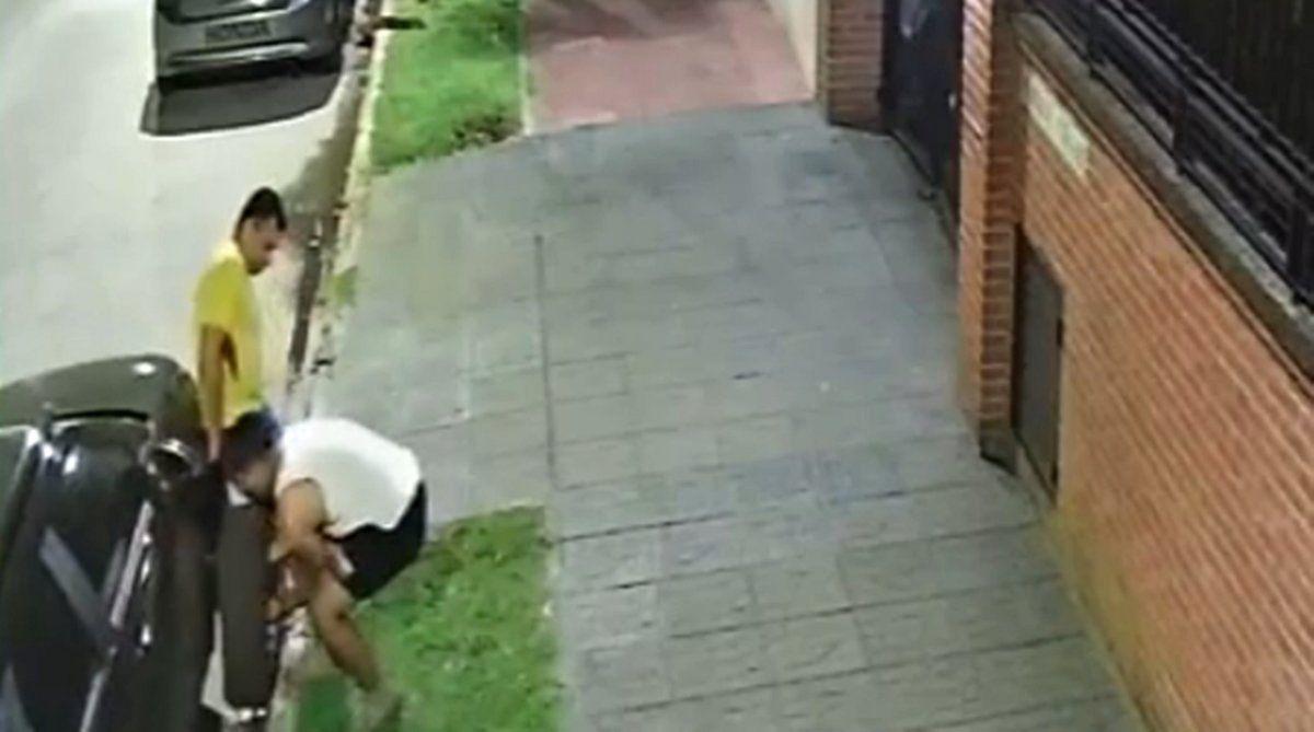 Volvieron los roba ruedas: así atacaron en Temperley