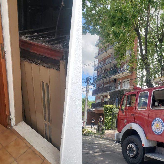 Rescataron a una mujer atrapada en ascensor en el centro de Monte Grande