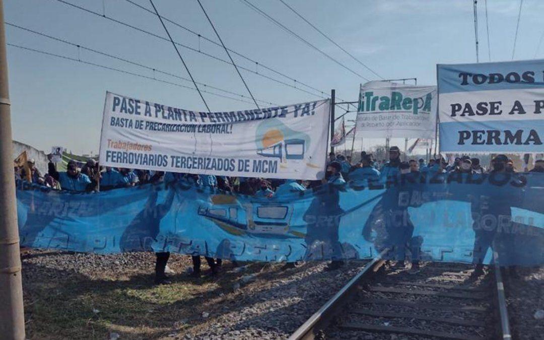 Tren Roca: el servicio se encuentra limitado por un corte de vías en Avellaneda