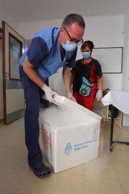 Esteban Echeverría ya recibió 500 dosis con el segundo componente de la vacuna Sputnik V